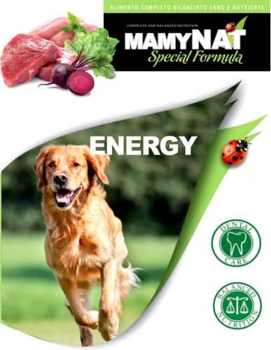 Миниатюра Сухой корм для собак MamyNAT Energy для взрослых собак, говядина, курица, свинина,  20кг №2