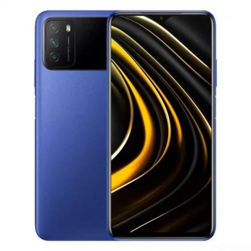 Миниатюра Смартфон Xiaomi POCO M3 4/64GB Blue №1