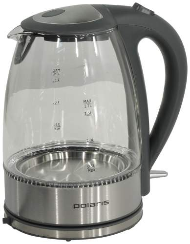 Чайник электрический Polaris PWK 1719CGL Black/Silver