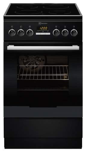 Электрическая плита Electrolux eKC95430MK Black