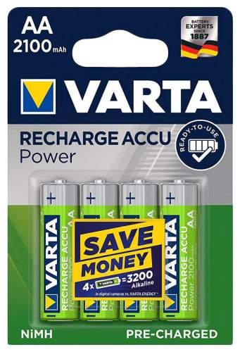 Аккумуляторная батарея Varta 56706 4 шт