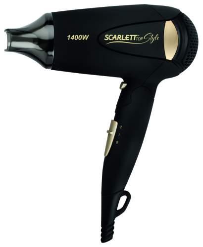 Фен Scarlett SC-HD70IT10 Black/Gold