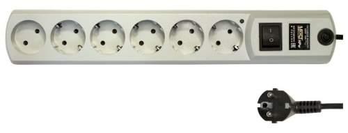 Сетевой фильтр MOST HPW, 6 розеток, 2 м, White