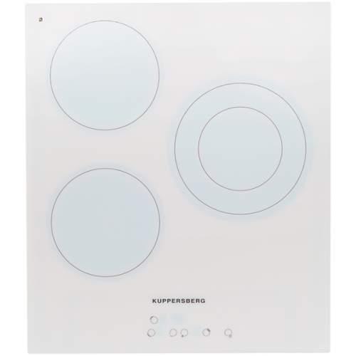 Встраиваемая варочная панель электрическая KUPPERSBERG SA45VT02W White