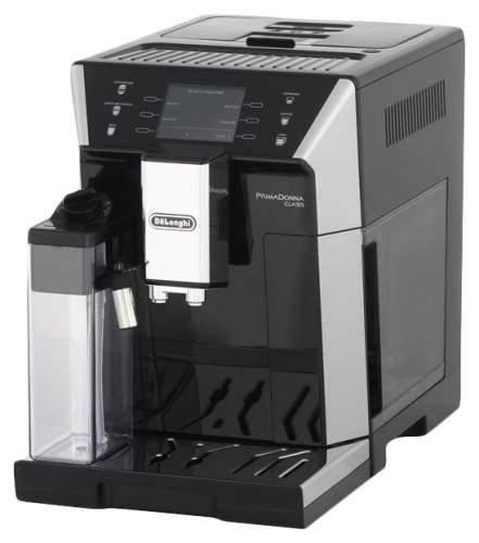 Кофемашина автоматическая DeLonghi PrimaDonna Class ECAM 550.55.SB Silver/Black