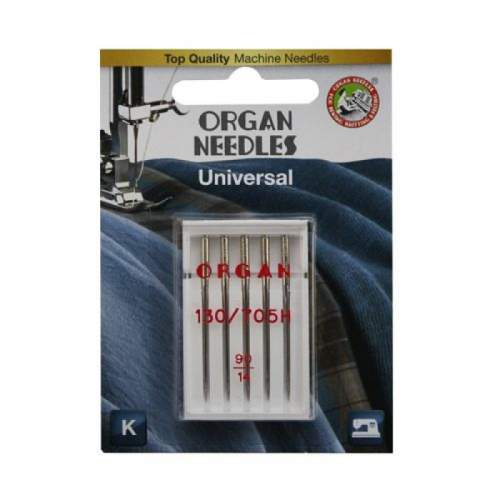 Иглы Organ универсальные 5/90 Blister