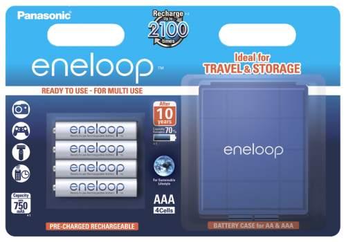 Аккумуляторная батарея Panasonic Eneloop BK-4MCCEC4BE 4 шт