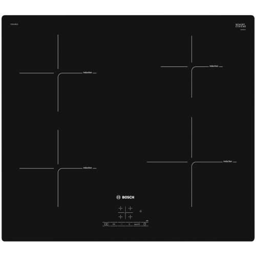 Встраиваемая варочная панель индукционная Bosch PIE611BB1E Black