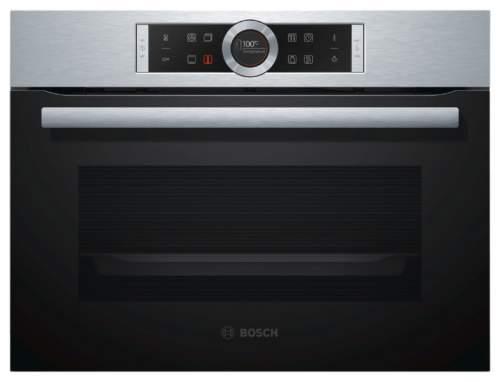 Встраиваемый электрический духовой шкаф Bosch CBG633NS3 Silver