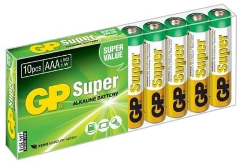 Батарейка GP Batteries 24A-B10 10 шт
