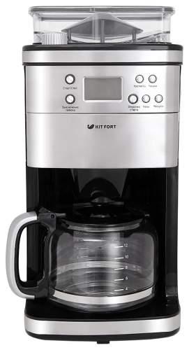 Кофеварка капельного типа Kitfort КТ-705 Silver