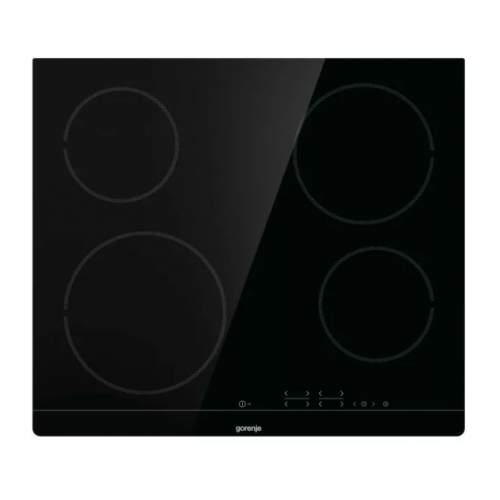 Встраиваемая варочная панель электрическая Gorenje CT41SC Black