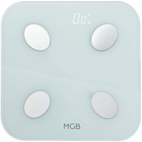 Весы напольные MGB Body Fat Scale Glass Edition White