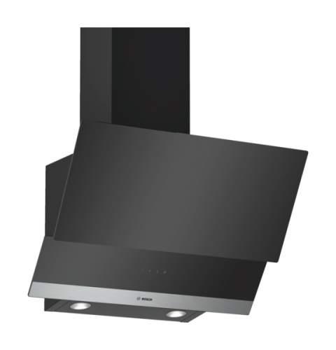 Вытяжка наклонная Bosch DWK065G66R Black/Silver