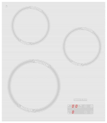 Встраиваемая варочная панель индукционная Zigmund & Shtain CIS 029.45 WX White