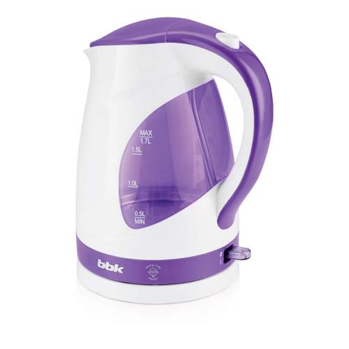 Чайник электрический BBK EK1700P White/Purple