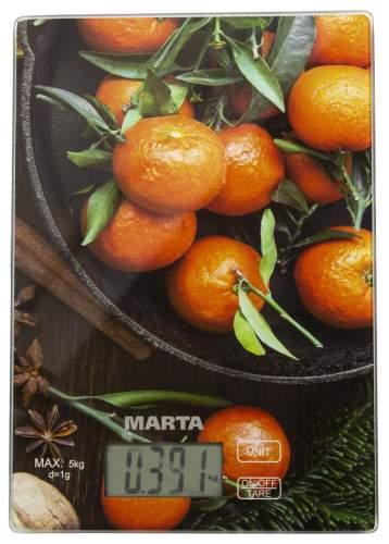 Весы кухонные Marta MT-1636 Tangerines