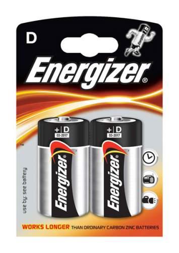 Батарейка Energizer D-LR20 2 шт
