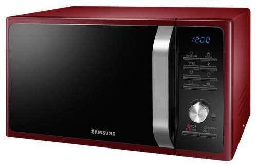 Микроволновая печь соло Samsung MS23F301TQR red