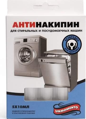 Средство для очистки стиральных и посудомоечных машин Un Momento