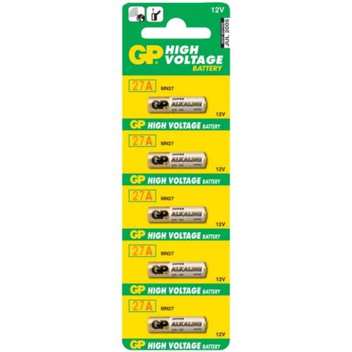 Батарейка GP Batteries Super Alkaline 27A 5 шт