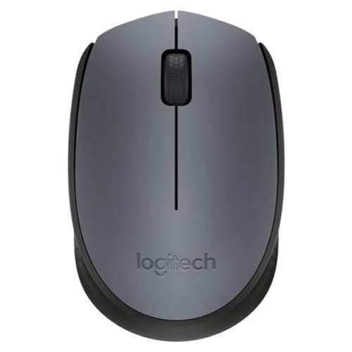 Миниатюра Беспроводная мышь Logitech M170 Black (910-004642) №1