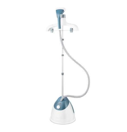 Вертикальный отпариватель Kitfort КТ-967 White/Blue