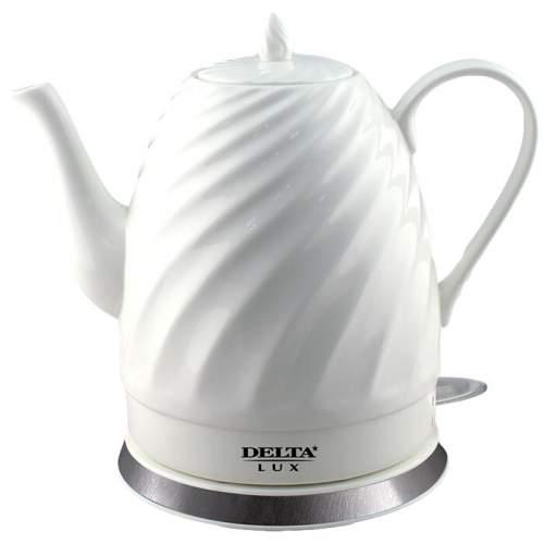 Чайник электрический Delta Lux DL-1238 White