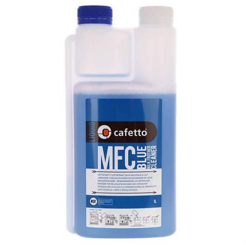 Средство для чистки капучинаторов и питчеров Cafetto MFC Blue 1л