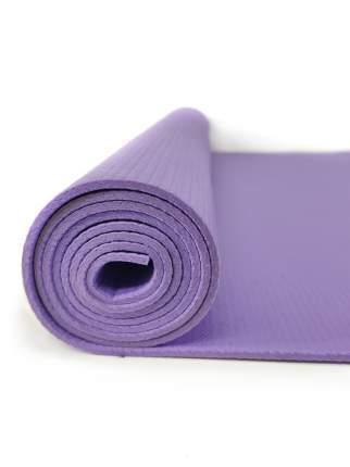 Коврик для йоги и фитнеса RamaYoga Сарасвати Экстра фиолетовый 4,5 мм
