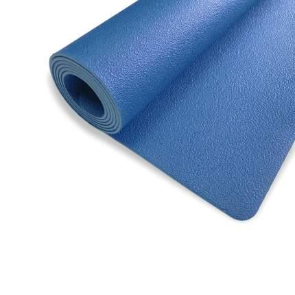 Коврик для йоги и фитнеса RamaYoga Revolution PRO синий 4 мм