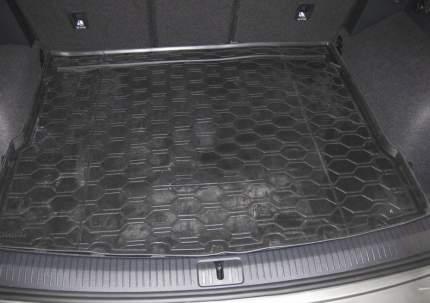 Коврик багажника Rival Volkswagen Tiguan II (ровный пол) 2016-н.в., полиуретан, 15805005