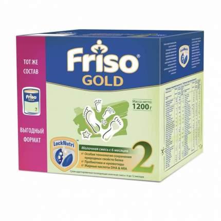 Молочная смесь Friso Gold 2 от 6 до 12 мес. 1 200 г