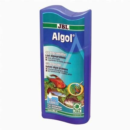 Средство для борьбы с водорослями в аквариуме JBL Algol 250 мл