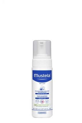 Пенка-шампунь Mustela bebe от «молочных корочек» для новорожденных, 150 мл