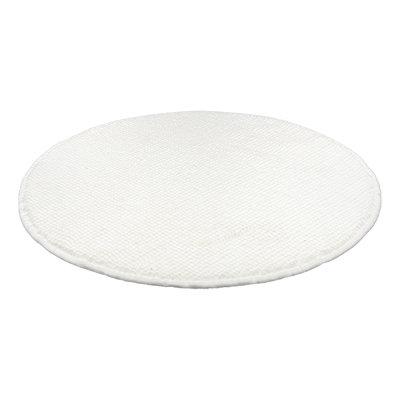 Коврик для ванной Vortex Spa круглый d55 см белый 24136
