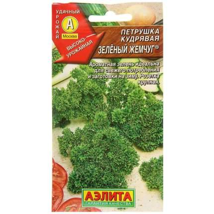 Семена Петрушка кудрявая Зеленый жемчуг ®, 2 г АЭЛИТА