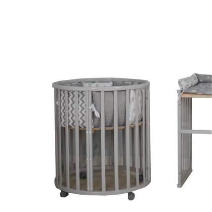 Кровать детская Incanto Estel Mimi 7-в-1 (цвет: серый) УТ0010039