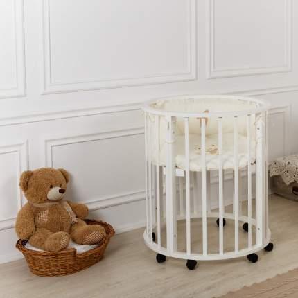 Кровать детская INCANTO Estel Mimi 7-в-1 цвет белый УТ0010008