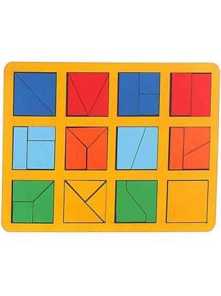 Обучающая игра Smile Decor, Сложи квадрат Б.П.Никитин 1 уровень макси
