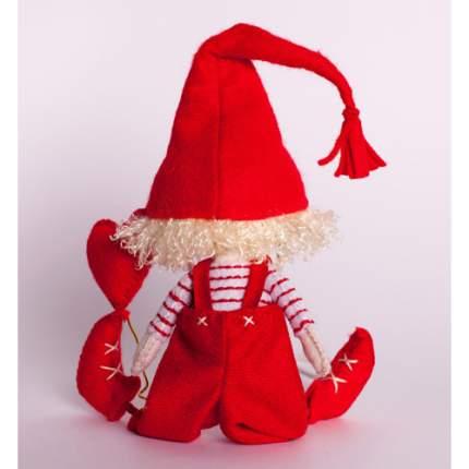 Набор для изготовления текстильной игрушки Влюблённый Гном ПФГ-1556