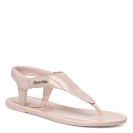 Сандалии женские Calvin Klein JELENA светло-розовые 39 EU