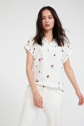 Блуза женская Finn Flare S20-14094 белая 3XL