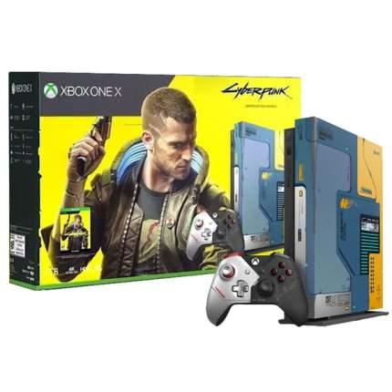 Игровая приставка Microsoft Xbox One X 1TB+Cyberpunk 2077