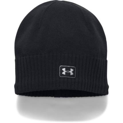 Женская шапка Under Armour Reflective Knit 1300395-001 2018, голубой, One Size (54-58)