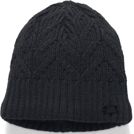 Женская шапка Under Armour Around Town 1299899-001 2019, черный, One Size (54-58)