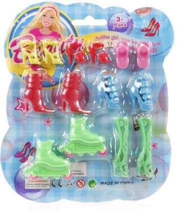 Набор обуви для кукол Shantou Beauty 7 пар, CH868