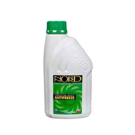 Антифриз NORD зеленый готовый антифриз 1л. NG20263