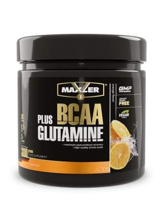 Аминокислоты БЦАА и глютамин MAXLER BCAA+Glutamine 300 гр (Апельсин)