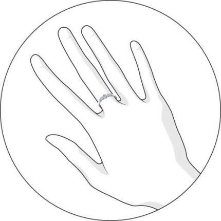 Кольцо женское «Зимние ягоды» SOKOLOV из серебра с фианитами 94011317 р.15